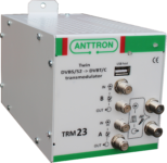 TRM 23 TWIN – transmodulator DVB-S/S2 -> DVB-T/C (ZAPYTAJ O PRODUKT)