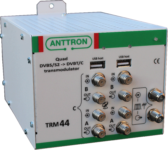 TRM 44 QUAD – transmodulator DVB-S/S2 -> DVB-T/C(ZAPYTAJ O PRODUKT)
